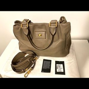Marc by Marc Jacobs puma satchel taupe